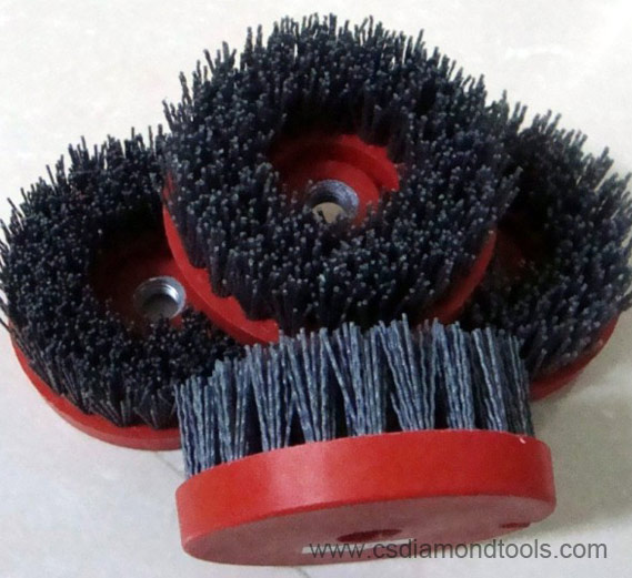 Diamond Abrasive Brushes for Grinding Stone to make antique