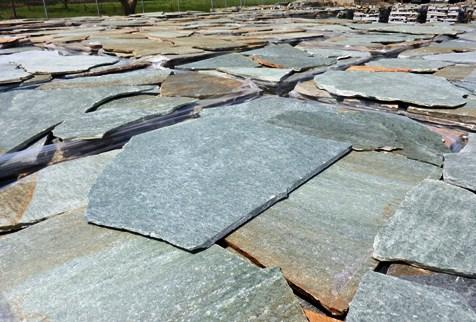 Grey-green stones karystos