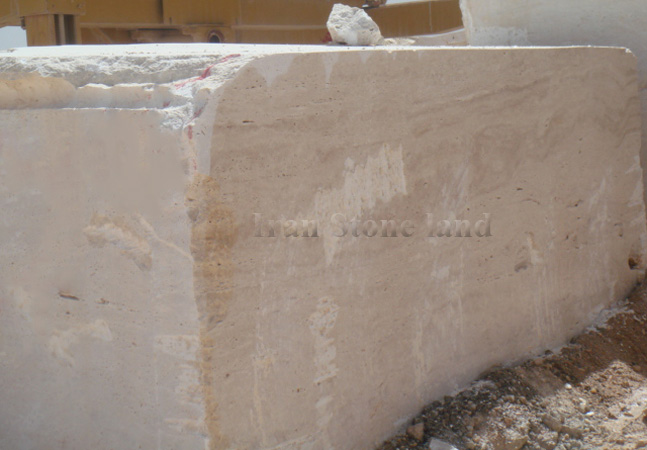 Supper white Travertine