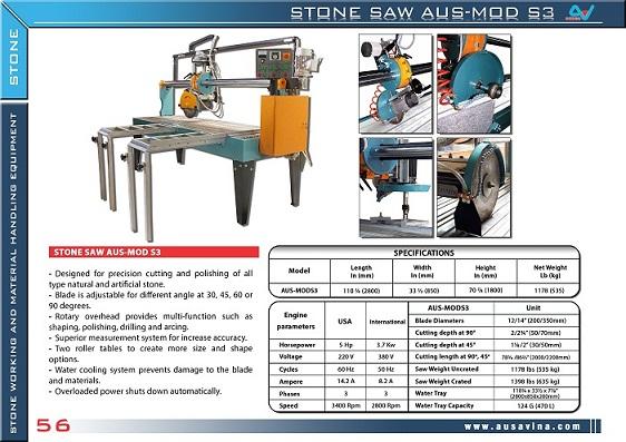 STONE SAW S3