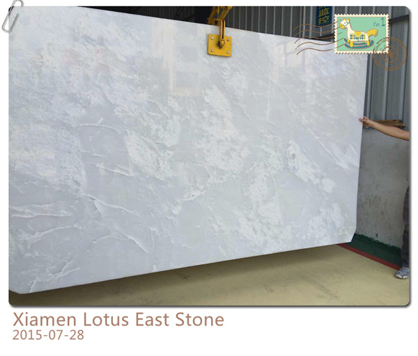 Pure White Onyx with Good Surface Look