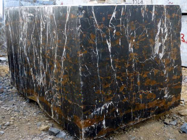Black and Gold Marble Blocks