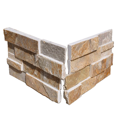SL014 Yellowood Ledge Stone Corner