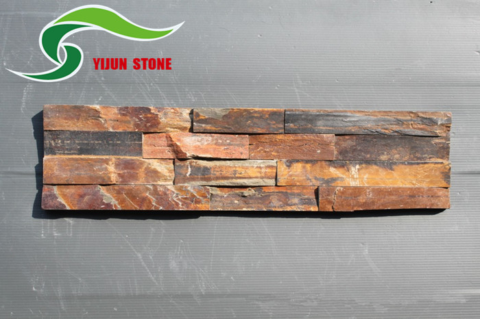 High Quality Natural Rustic Slate Stone Wall Tile