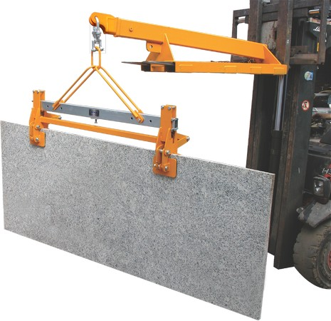 Double Scissor Clamp Aardwolf Lifter Stone Handling Equipment