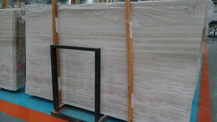 White Wooden Slab