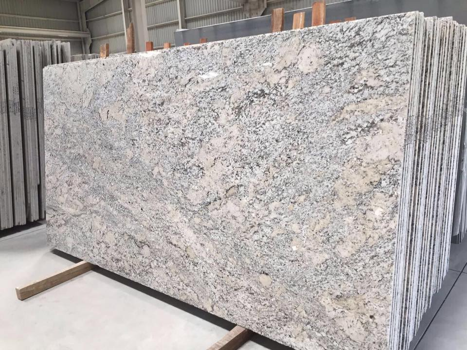 Alaska White Granite Blocks