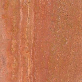Azarshahr Red Travertine vein cut