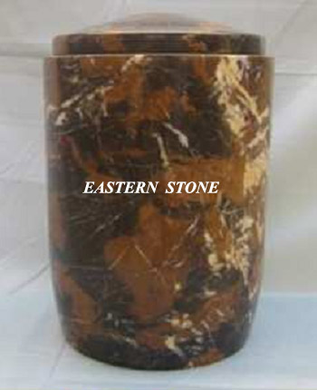 Onyx Marble Fossil Stone Ash URN Cremation URN Funeral URN