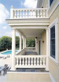 Balcony Guards (baluster) in Natural Stone