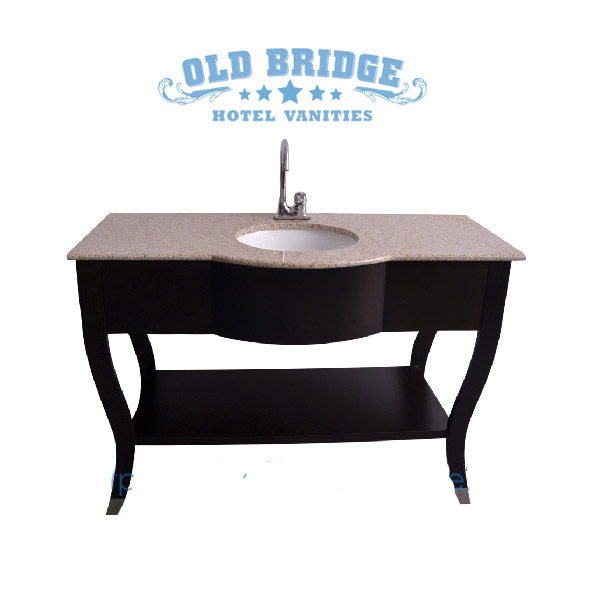 High quality Bathroom Base Cabinet with wooden legs