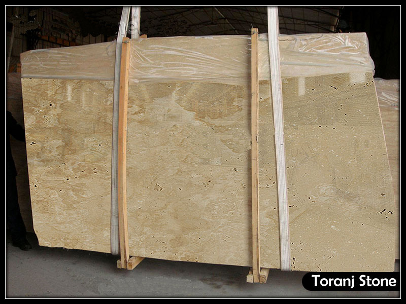 Cream Travertine Stone - Code T101