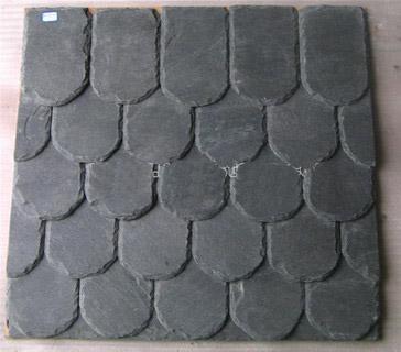 black slate roof slate