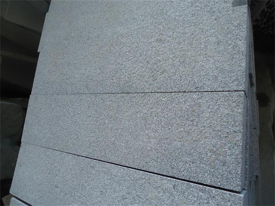 Chiva Black Granite Flamed Tiles