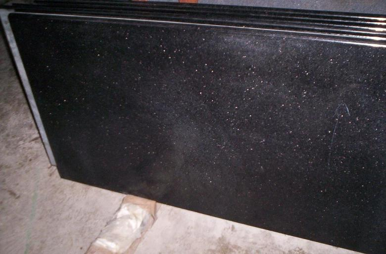 Star Galaxy Tiles Black Galaxy Granite Slabs