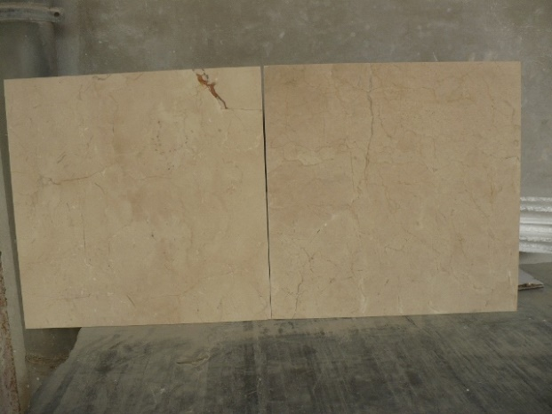 Crema Marfil tiles 457x457x15mm