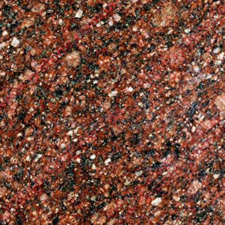 Granite Rosso Carpazi from Ukraine