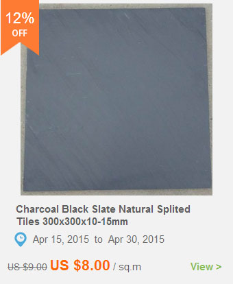 Charcoal Black Slate