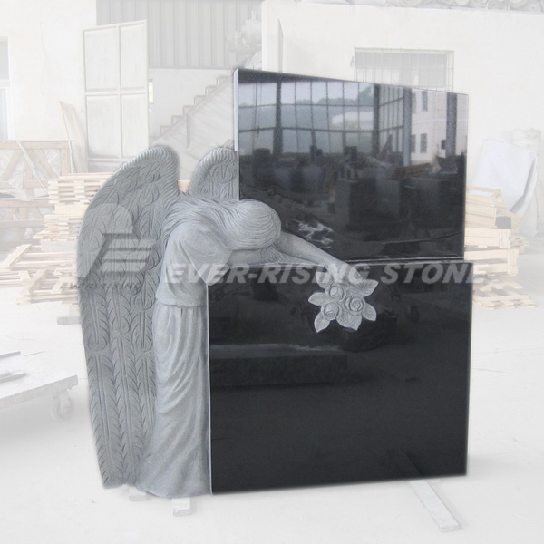 China Shanxi Black Ganite Tombstone