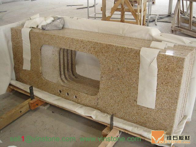 G682 kitchentop- yellow granite