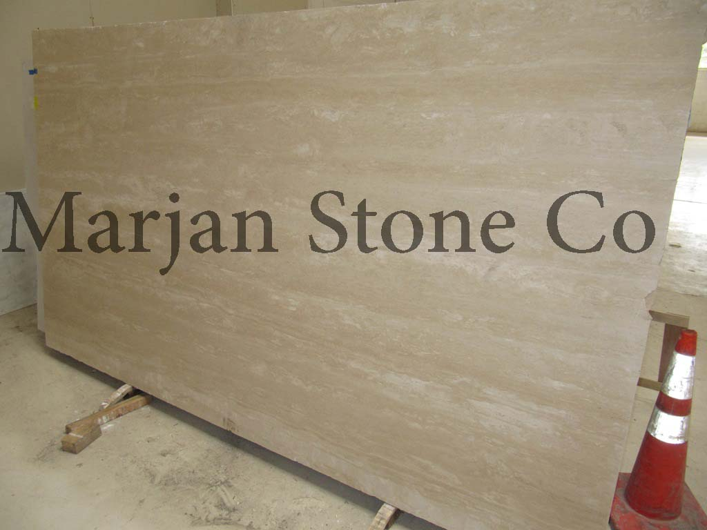 Cream Travertine Slab