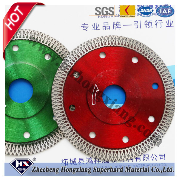 Super thin X turbo blade for marble granite