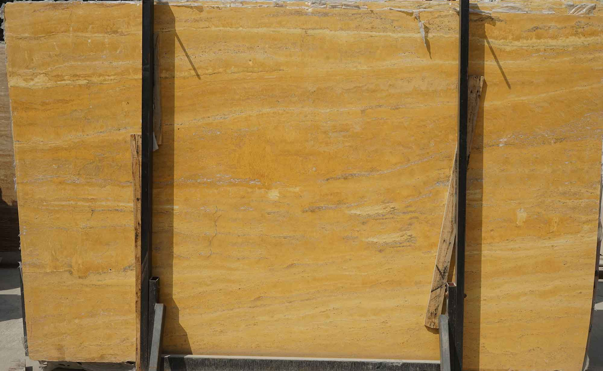 Golden Yellow Travertine