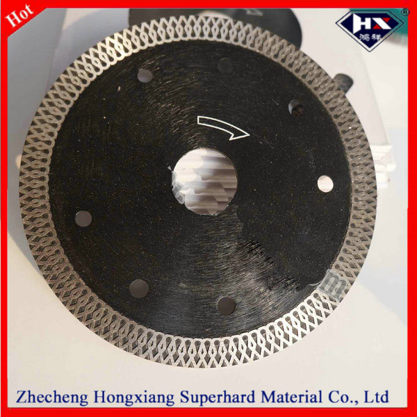 X turbo hot press diamond cutting disc for granite ceramic tiles