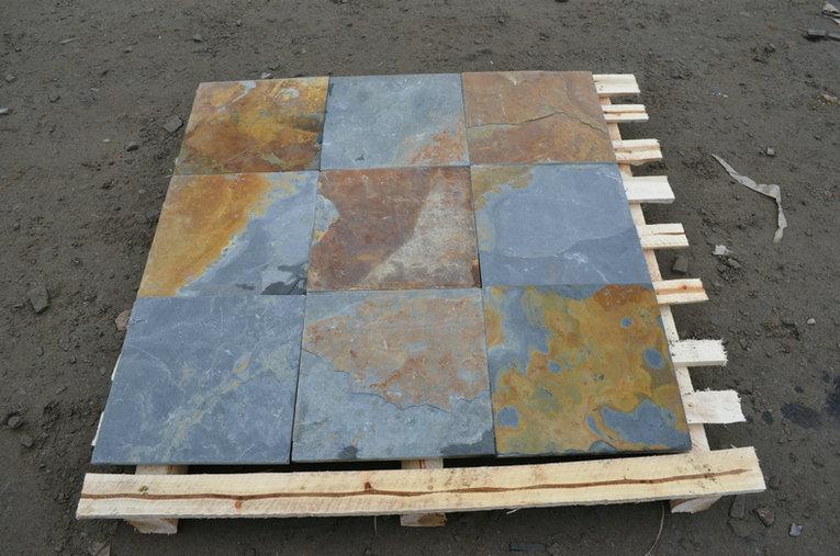 rustic slate tiles 30x30cm