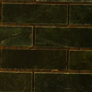 Polished Marble Mosaic Wall