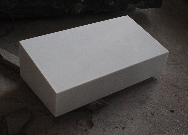 Hunan White Marble Tombstone Monument American