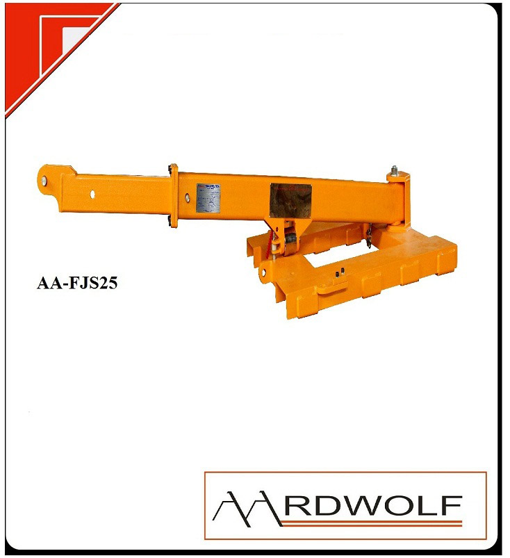 SWING ARM FORKLIFT BOOM
