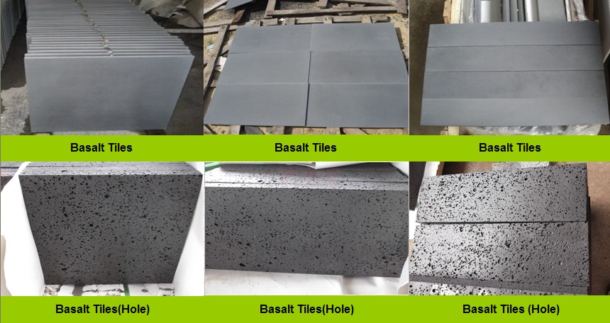 Chiva Black Basalt Tiles