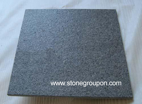G654 China Granite Tiles-Flamed