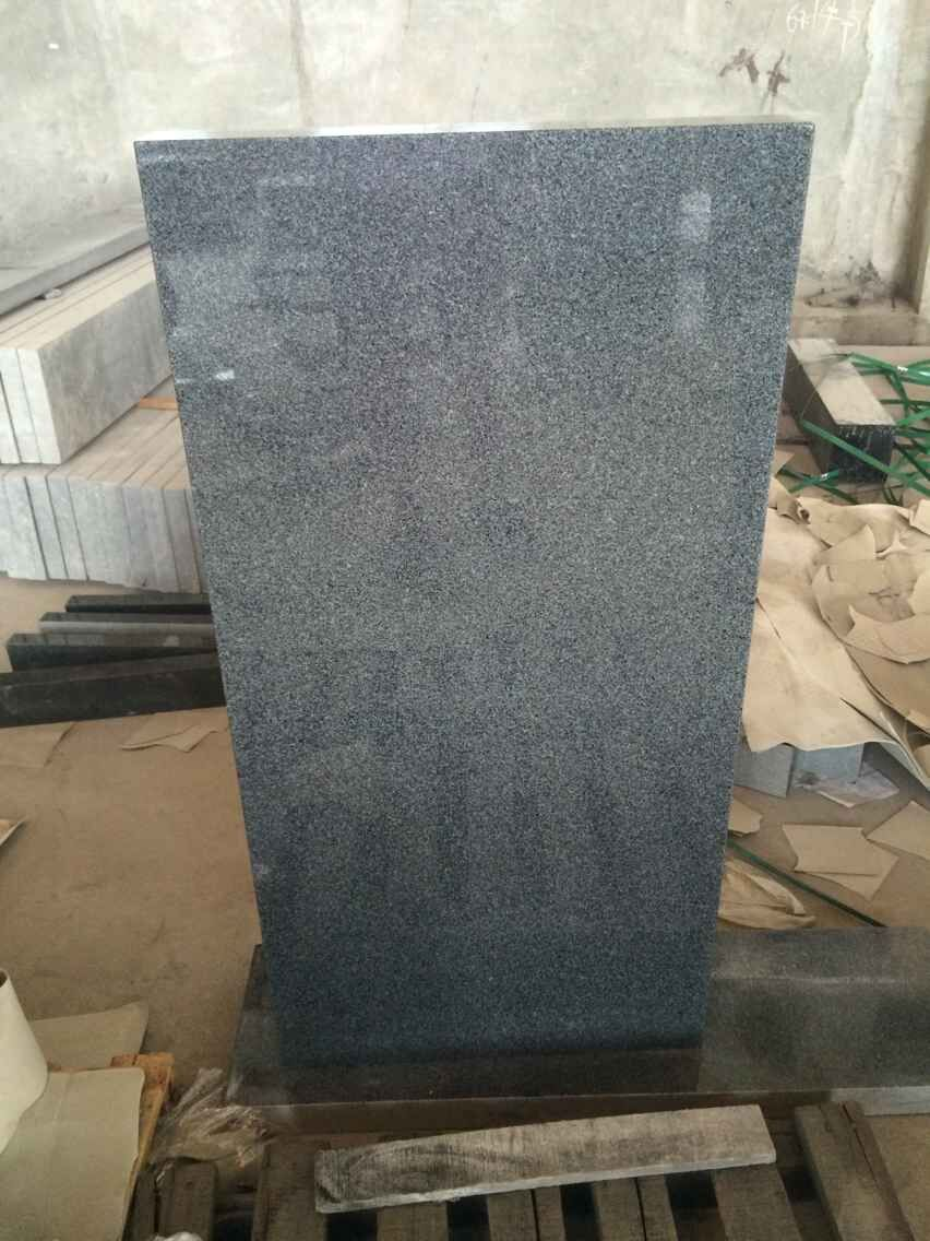 Rectangular G654 Grey Granite Monument