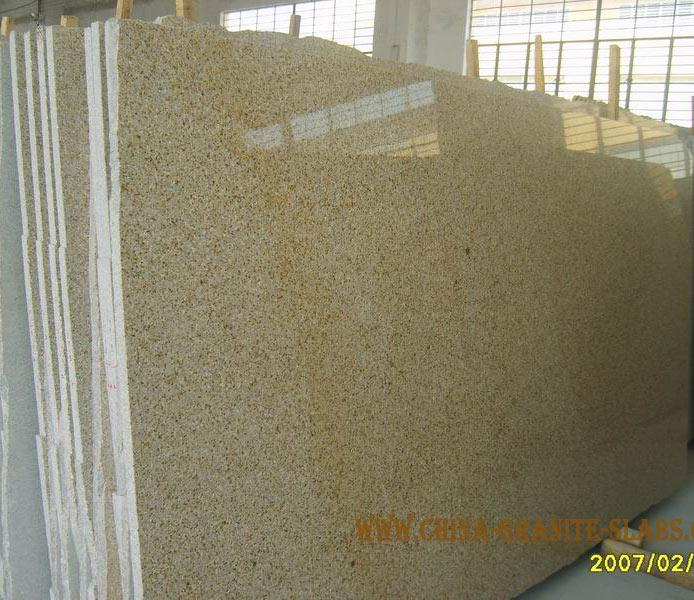 G682 Granite Slabs,yellow Gold Granite Big and Gan