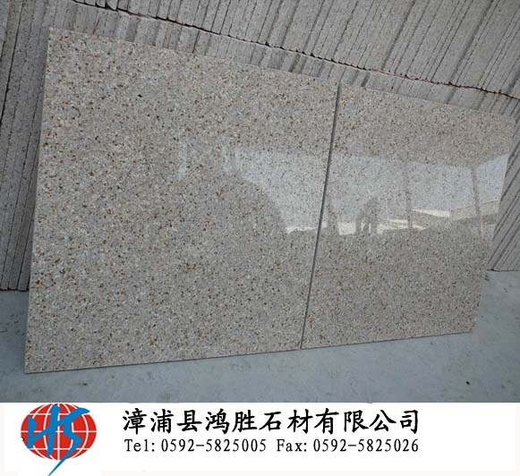 Chinese yellow granite G682 with polished surface for your buildin