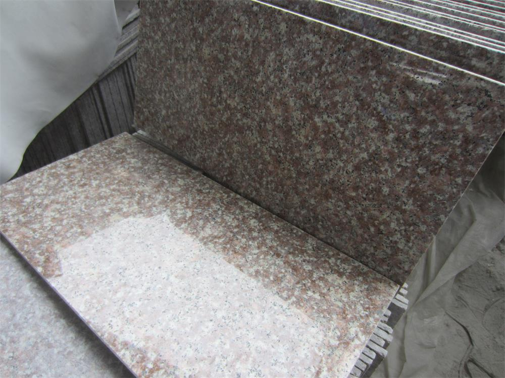 G687 Peach Blossom Granite
