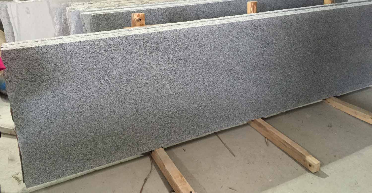 G603 Light Grey Granite 70s Slab