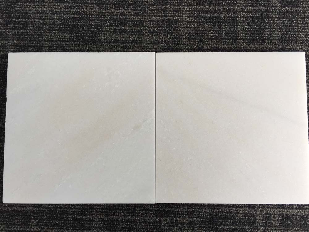 China Snow White Marble Polished Tiles