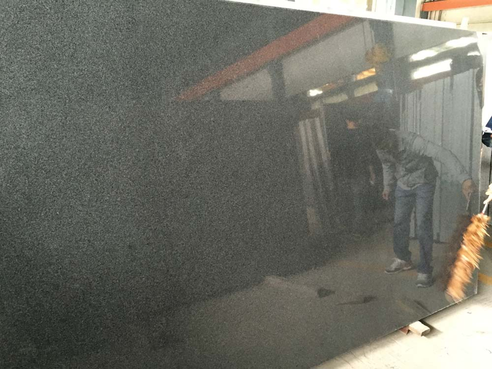 G654 Dark Grey Granite Slab