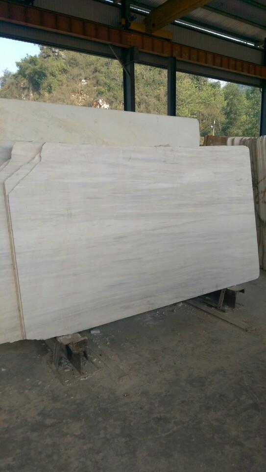 Wood vien marble Slab