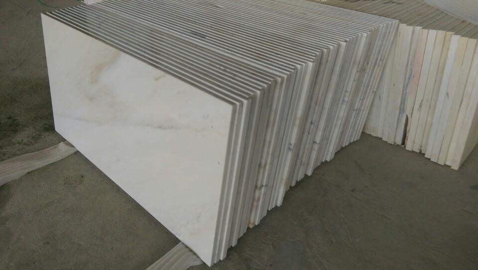 Milky white marble Viet Nam