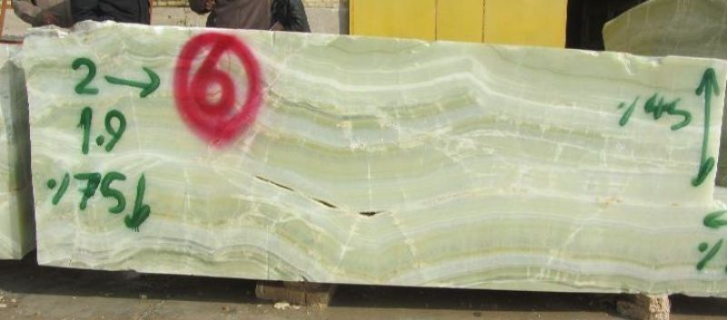 Jade Green Slabs and Blocks