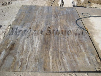 Iran Silver Travertine