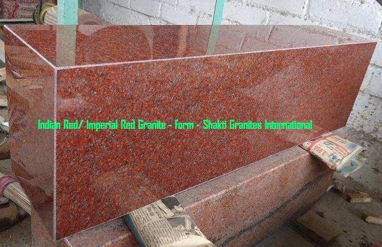 Imperial Red Granite, Indian Red Granite