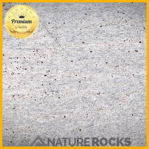 Kashmir White Granite Satin Finish