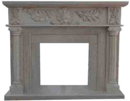 White Marble FireplacesLYF-02A