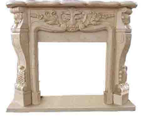 Yellow Marble fireplaces LYF-03B