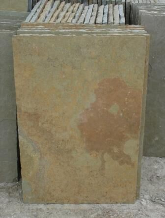 MC gold limestone slabs